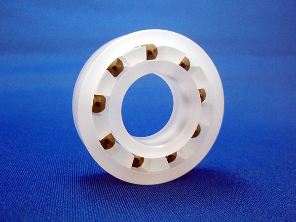 フッ酸(フッ化水素酸)洗浄用プラスチックベアリング