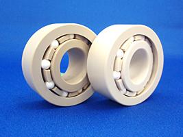 液晶関連の製造装置に使用されている自動調心ベアリング
