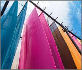 染色、染織装置