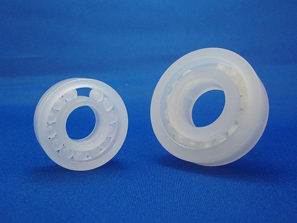 フルボールタイプ(リテーナーなし)樹脂ボールベアリング